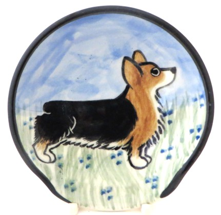 Corgi Tri Color -Deluxe Spoon Rest